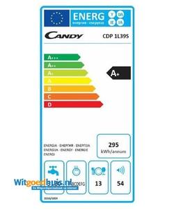 Candy CDP 1L39S-S vaatwasser