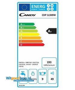Candy CDP 1L949W vaatwasser