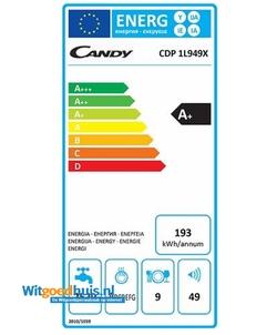 Candy CDP 1L949X vaatwasser