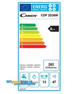 Candy CDP 2D36W-S vaatwasser