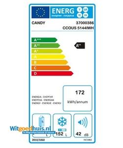 Candy CCOUS 5144IWH vrieskast