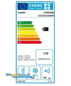 Candy CCTUS 542 WH vrieskast