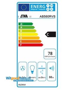 Etna AB560RVS afzuigkap