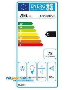 Etna AB590RVS afzuigkap
