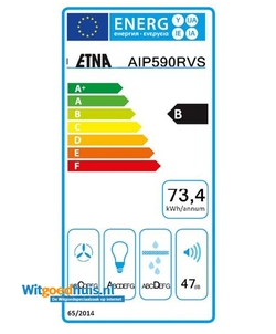 Etna AIP590RVS afzuigkap