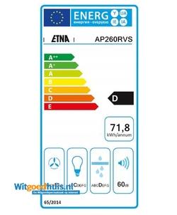 Etna AP260RVS afzuigkap