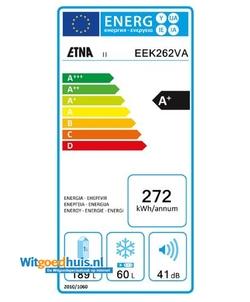 Etna EEK262VA inbouw koel / vriescombinatie