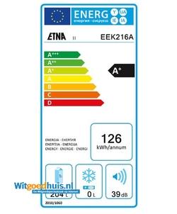 Etna EEK216A inbouw koelkast
