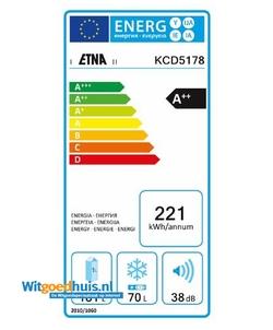 Etna KCD5178 inbouw koelkast