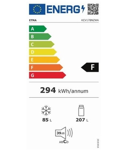 Etna KCV178NZWA koelkast