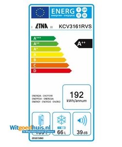 Etna KCV3161 koelkast