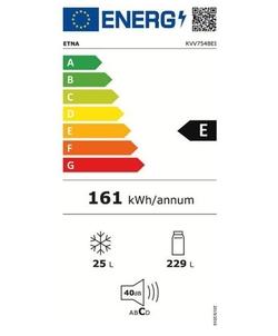 Etna KVV754BEI koelkast
