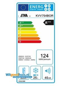 Etna KVV754BOR koelkast