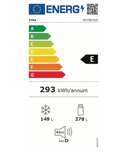 Etna MKV581RVS koelkast