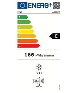 Etna VV655WIT vrieskast