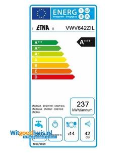 Etna VWV642ZIL vaatwasser