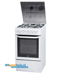 Indesit fornuis I5TMH2AG(W)/NL