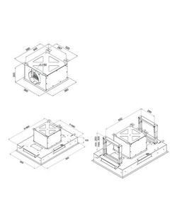 Inventum AKC9000RVS inbouw afzuigkap