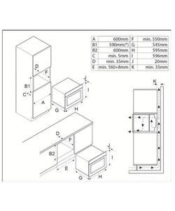 Inventum IOM6035RT inbouw oven