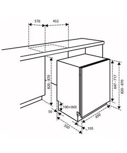 Inventum IVW4508A inbouw vaatwasser