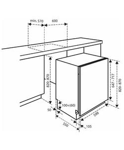 Inventum IVW6008A inbouw vaatwasser
