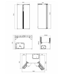 Inventum SKV0178B koelkast