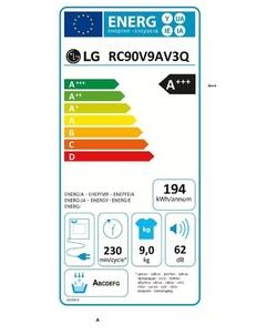 LG RC90V9AV3Q wasdroger