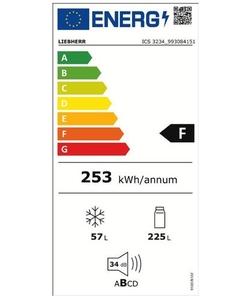 Liebherr ICS 3234-21 inbouw koelkast