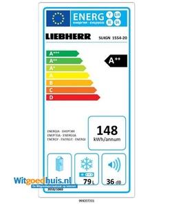 Liebherr SUIGN 1554 inbouw koelkast