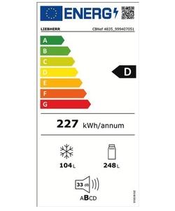 Liebherr CBNef 4835-21 koelkast