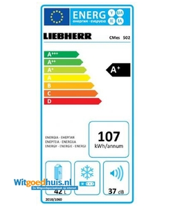 Liebherr CMes 502-20 koelkast