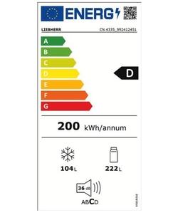 Liebherr CN 4335-21 koelkast