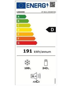 Liebherr CP 4813-22 koelkast