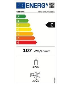 Liebherr KBbs 4370-21 koelkast