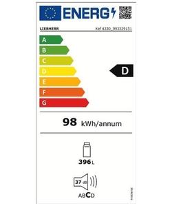 Liebherr Kef 4330-21 koelkast