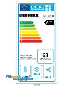 Liebherr Kef 4370-20 koelkast