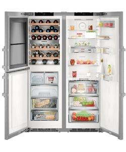 Liebherr koelkast SBSes 8496-20 (SWTNes 4285-20+SKBes 4380-20)