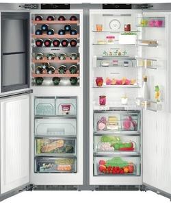 Liebherr koelkast SBSes 8496-21 (SWTNes 4285-21+SKBes 4380-21)