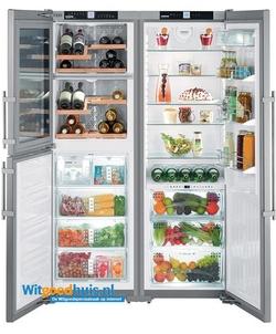 Liebherr koelkast amerikaans SBSes 7165-21 PremiumPlus