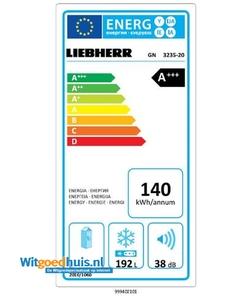 Liebherr GN 3235-20 vrieskast