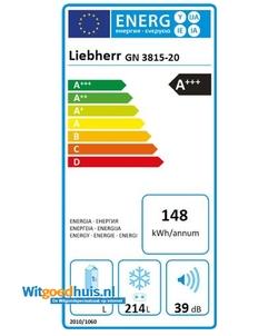 Liebherr GN 3815-20 Comfort vrieskast