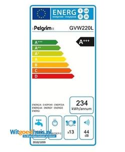 Pelgrim GVW220L inbouw vaatwasser