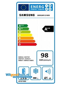 Samsung BRR20R121WW inbouw koelkast