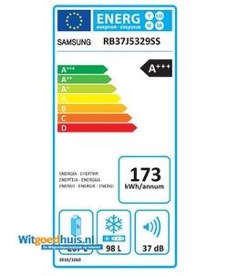 Samsung RB37J5329SS/EF koel / vriescombinatie