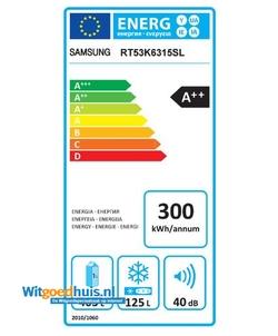 Samsung RT53K6315SL/EF koel / vriescombinatie
