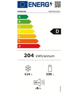 Samsung RB34T601DSA/EF koelkast