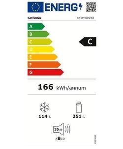 Samsung RB36T605CB1/EF koelkast