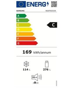 Samsung RB38T603CS9/EF koelkast