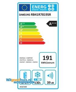 Samsung RB41R7819SR/EF koelkast