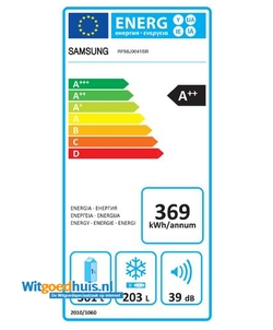 Samsung RF56J9041SR/EG Amerikaanse koelkast